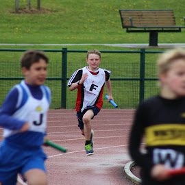 Determination by Chris Knowles - Sports & Fitness Running