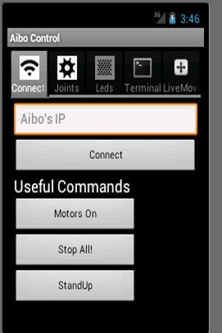Aibo Control