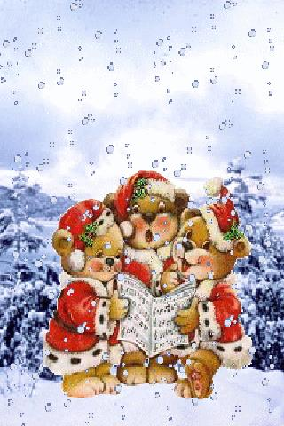 Singing bears Live Wallpaper