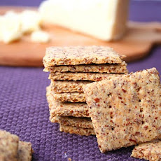 Cheddar Asiago Crackers (Low Carb)