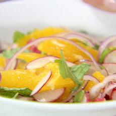 Orange, Radish, and Mint Salad
