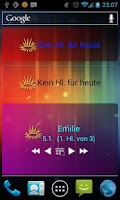 Screenshot of Kath. Heiligenkalender Widgets