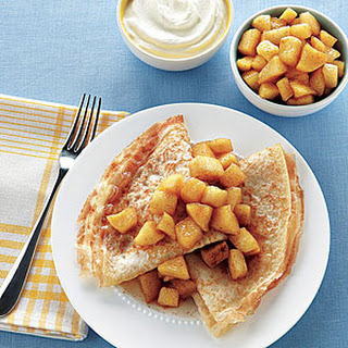 Breakfast Apple Crepes Recipes