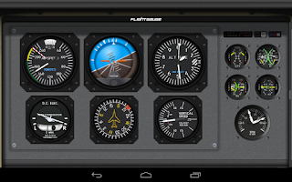 Screenshot of FlightGauge Trial