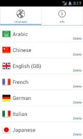 Screenshot of Phrasebook PRO (16 languages)
