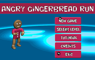 Screenshot of Angry gingerbread run