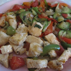 Healthy Diet Chicken and Vegetables