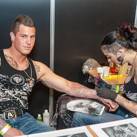 The Great British Tattoo Show, Alexandra Palace, London by Terry Mendoza - People Body Art/Tattoos