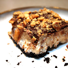 Peanut Butter Swirl Ice Cream Bars