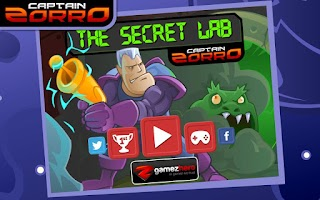 Screenshot of Captain Zorro: The Secret Lab