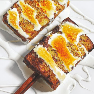 Cinnamon Brioche French Toast Skewers