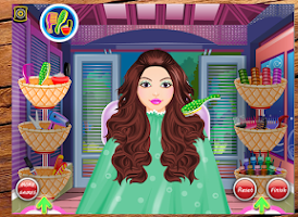 Screenshot of Pancy's Hair Salon - Kids game