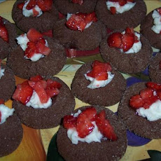 Chocolate-Strawberry Thumbprint Cookies