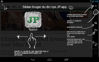 Screenshot of JP Tablet