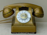 Desk Phones - Western Electric 302 Gold