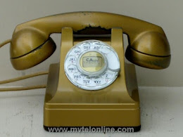 Desk Phones - Western Electric 302 Gold 1