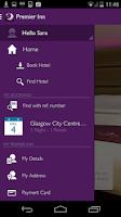 Screenshot of Premier Inn Hotels