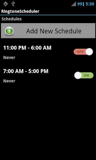 Ringtone Scheduler Pro