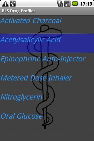 BLS Drug Profiles