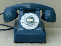 Desk Phones - Western Electric 302 Blue 1