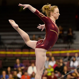 W. Gymnastics  - Michigan State at Minnesota by David Drufke - Sports & Fitness Other Sports ( ncaa, sports, gopher gymnastics, sport, university of minnesota, big ten, lindsay mable, gymnastics, women's gymnastics )