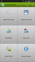 Screenshot of KLSE Share Price
