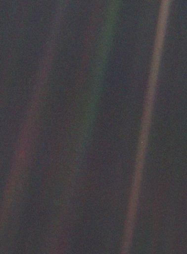 Nasa Voyager image of earth