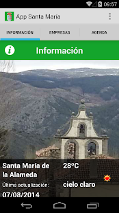 App Santa María - screenshot