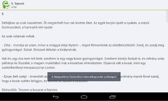 Screenshot of Egri csillagok hangoskönyv