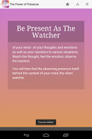 Screenshot of Power of Now: Meditation Deck