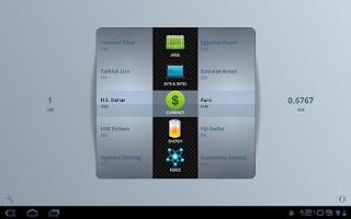 Screenshot of Unit Converter for Tablets