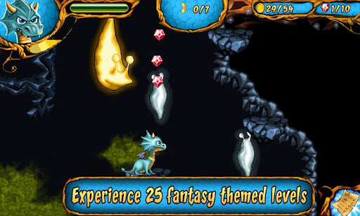 dragon-dracula-platformer for android screenshot