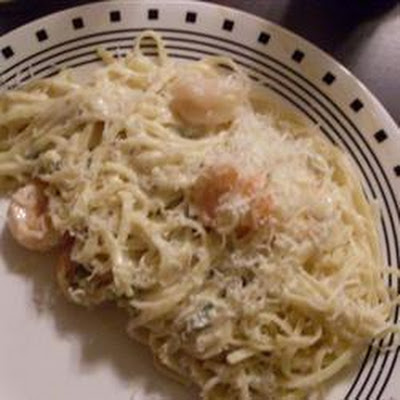 Spicy Calamari Linguine with White Wine Cream Sauce
