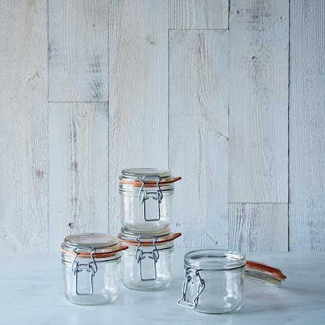Le Parfait 7 Ounce Bail Closure Canning Jar (Set of 4)