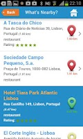 Screenshot of Lisbon Guide Weather Hotels