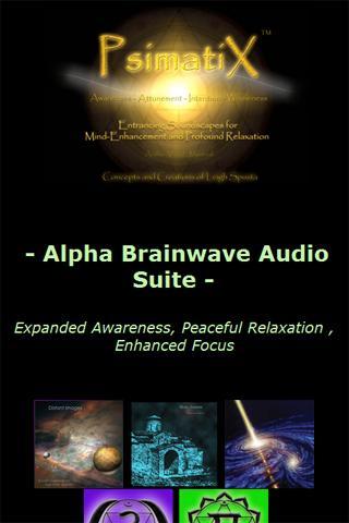 Alpha Brainwave Audio Suite