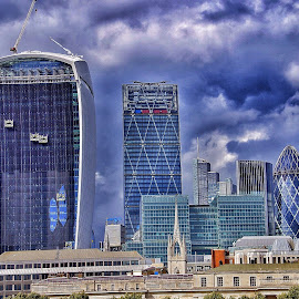 by Jose Figueiredo - Buildings & Architecture Office Buildings & Hotels ( london, buildings, cityscape )