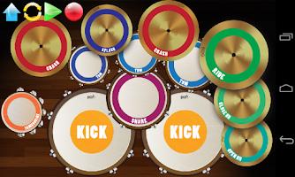 Screenshot of Real Drum Set