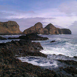 Channel Islands by Miguel Rodriguez - Nature Up Close Rock & Stone ( water, california, pacific, ocean, exploration )