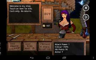 Screenshot of Bio Sword Saga Lite