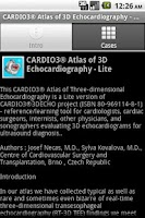 Screenshot of CARDIO3® 3D ECHO - Lite