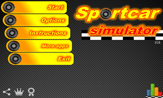 Screenshot of Sport Car Simulator (full)
