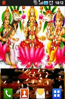 Screenshot of Laxmi Puja Aarti LiveWallpaper