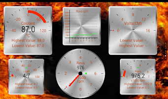 Screenshot of Torque Theme Pack 2 (OBD 2)