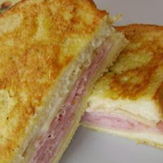 Aunt Bev's Croque Monsieur
