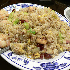 Ham and Shrimp Fried Rice