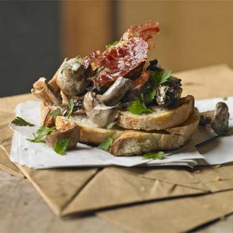 Oyster Mushrooms & Swedes On Toast Recipe | Yummly