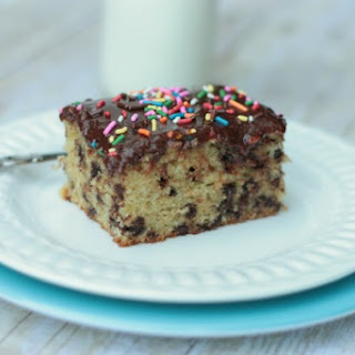 Chocolate Chip Butter Cake
