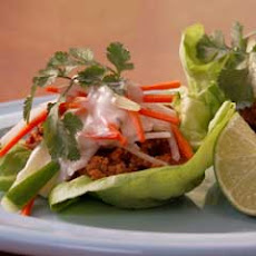 Turkey Lettuce ''tacos''
