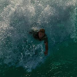 The Wedge Surfer by Jose Matutina - Sports & Fitness Surfing ( orange county, surfer, california, sport, newport beach, the wedge )